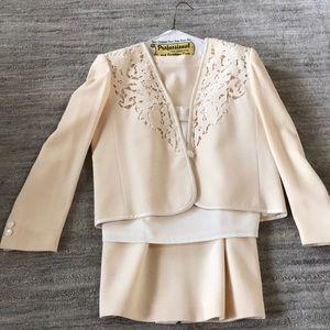 Jasper 2-piece skirt, cami & jacket, size 8 10